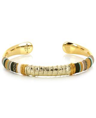 Massai gold plated bangle GAS BIJOUX