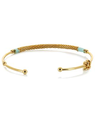 Zanzibar gold plated bangle GAS BIJOUX