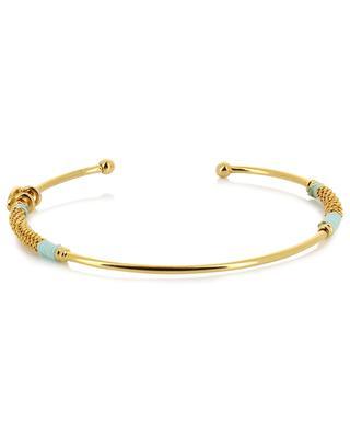 Zanzibar gold plated bangle GAS BIJOUX
