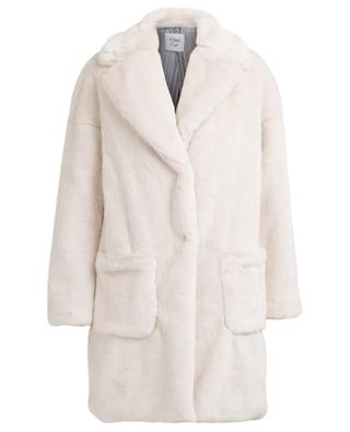 Mantel aus Kunstpelz FAKE FUR