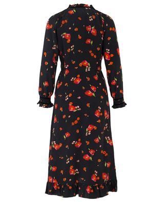 Mona floral silk dress VILSHENKO