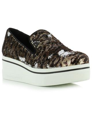 Sequined slip-on shoes STELLA MCCARTNEY