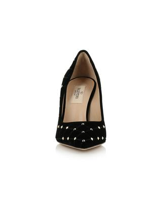 Rockstud Spike Court velvet pumps VALENTINO
