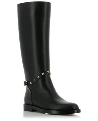 Rockstud leather boots VALENTINO