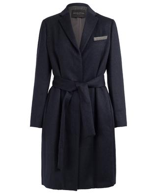 Alpaca and merino wool blend coat FABIANA FILIPPI