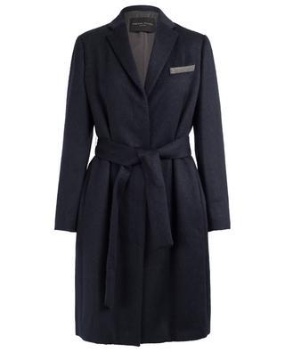 Manteau en alpaga et laine mérinos FABIANA FILIPPI