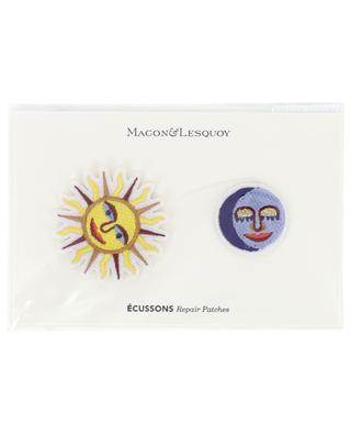 Set d'écussons Soleil + Lune MACON & LESQOY