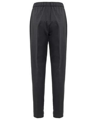Tapered leg merino wool trousers FABIANA FILIPPI