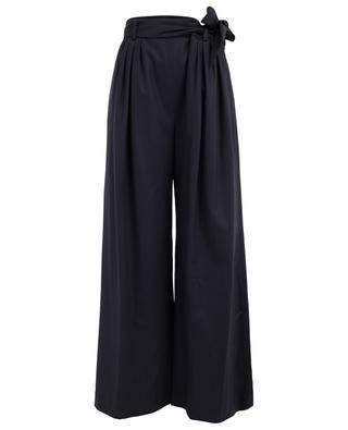 Merino wool and cashmere wide-leg trousers FABIANA FILIPPI