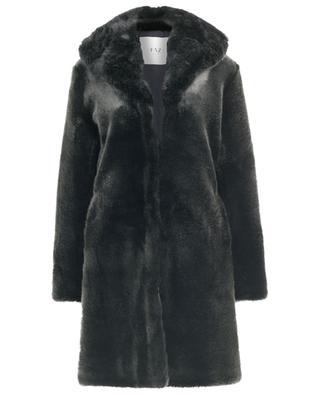 Dark Knight faux fur coat / FAZ / NOT FUR