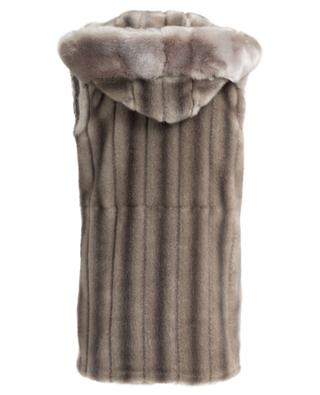 Skatemoss faux fur vest FUZZ NOT FUR