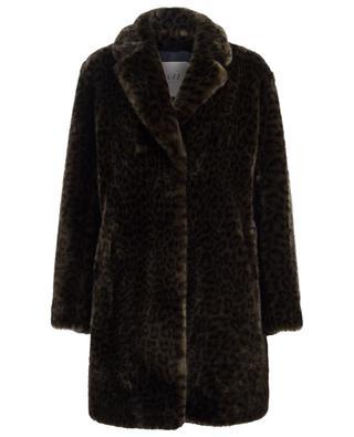 Manteau en fourrure synthétique Snow Leo FUZZ NOT FUR