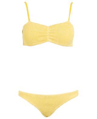 Bikini en lycra stretch froissé Trina HUNZA G