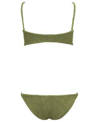 Trina crinkly lycra stretch bikini HUNZA G