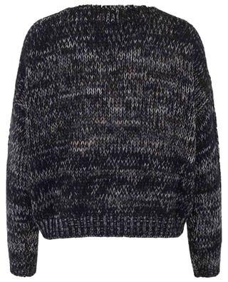 Kurzer Pullover aus Wollmix FINE EDGE