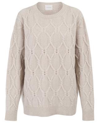 Virgin wool and cashmere jumper FINE EDGE