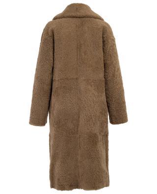 Manteau réversible en peau lainée Medea NOVE LEDER