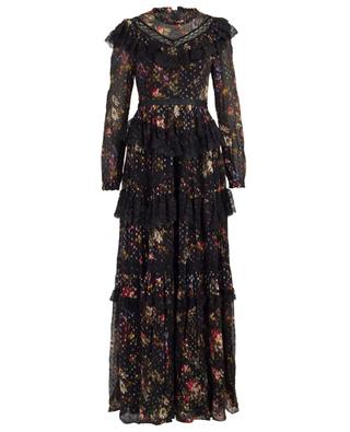 Cosmic Forest tulle maxi dress NEEDLE &THREAD