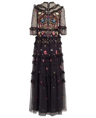 Pandora embroidered tulle maxi dress NEEDLE &THREAD