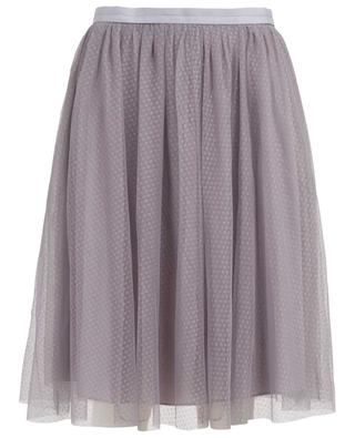 Dotted Tulle midi skirt NEEDLE &THREAD