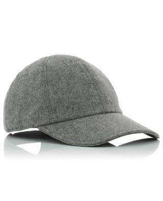 Wool and cashmere baseball cap FABIANA FILIPPI