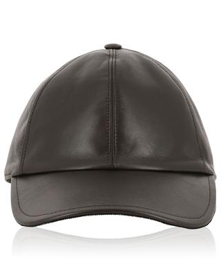 Leather baseball cap FABIANA FILIPPI