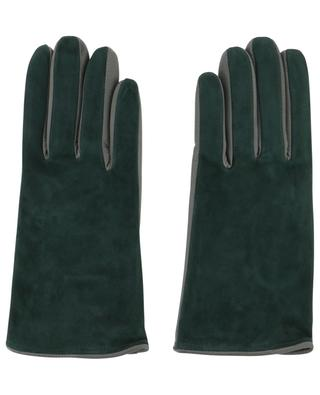 Suede and leather gloves FABIANA FILIPPI