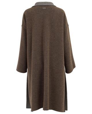 Manteau réversible en laine mélangée FABIANA FILIPPI