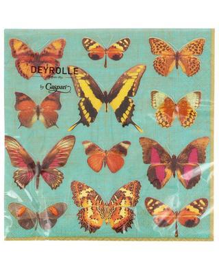 Deyrolle Butterflies napkins CASPARI