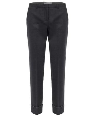 Merino wool tapered leg trousers FABIANA FILIPPI