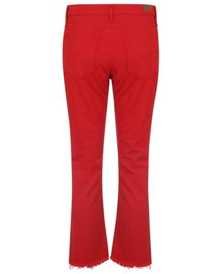 Chrystie red cropped kick flare jeans POLO RALPH LAUREN