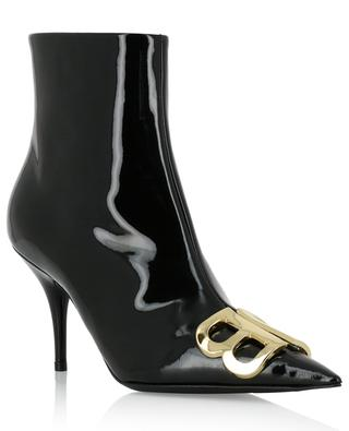 BB patent leather ankle boots BALENCIAGA