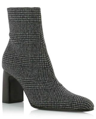 Leather and Prince of Wales ankle boots BALENCIAGA