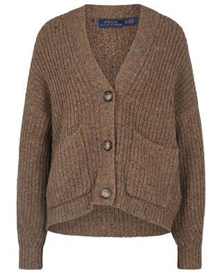Chunky rib-knit V-neck cardigan POLO RALPH LAUREN