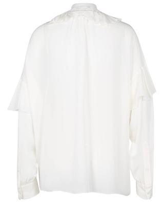 Ruffled silk blouse POLO RALPH LAUREN
