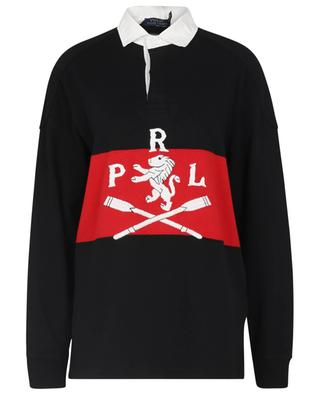 Rugby long-sleeved embroidered polo shirt POLO RALPH LAUREN