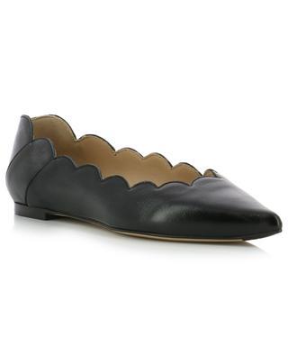 Leather ballet flats CHLOE