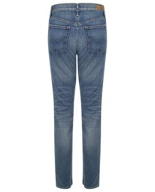 Slim-Fit-Jeans im Used-Look mit hoher Taille The Callen POLO RALPH LAUREN