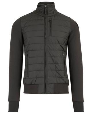 Sweat-shirt zippé bi-matière Elliot PARAJUMPERS