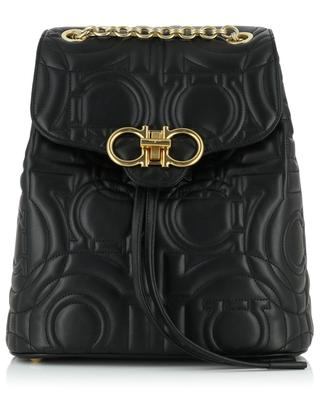 Gancini quilted leather backpack SALVATORE FERRAGAMO