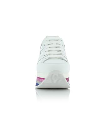 Maxi 4222 wedge sneakers with glitter HOGAN