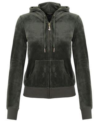 Robertson zippered velvet sweatshirt JUICY BY JUICY COUTURE