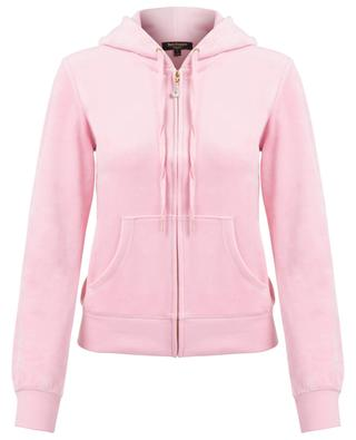Robertson zippered velvet sweatshirt JUICY BY JUICY COUTURE