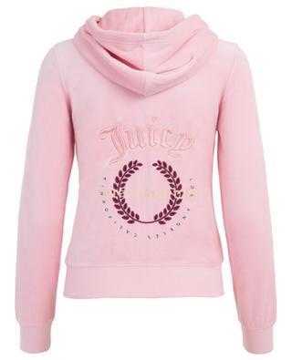 Laurel velvet sweatshirt JUICY BY JUICY COUTURE