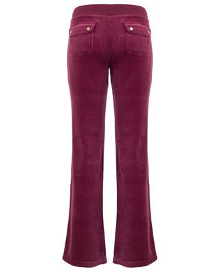 Luxe Del Rey velvet jogging trousers JUICY BY JUICY COUTURE