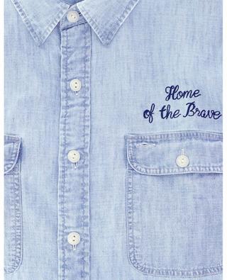 Besticktes Hemd aus Chambray POLO RALPH LAUREN