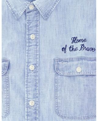 Embroidered chambray shirt POLO RALPH LAUREN