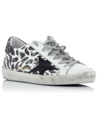 Superstar printed leather sneakers GOLDEN GOOSE