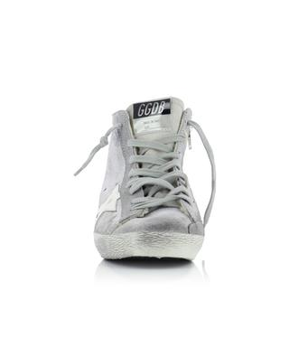 Fancy leather high-top sneakers GOLDEN GOOSE