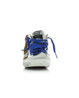 Mid Star calf hair leather high-top sneakers GOLDEN GOOSE